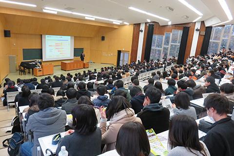 新潟県内大学での学生サポート活動